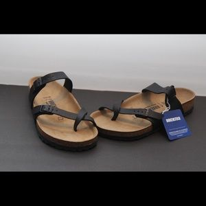 Birkenstock Mayari Black Sandals